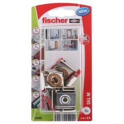 Kit de fixation pour miroir FISCHER 4 pcs