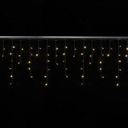 Cascade 2x0,6 mètres 72 LEDs animés blanc froid