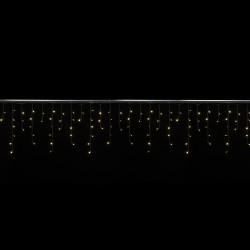 Cascade 4x0,6 mètres 144 LEDs animés blanc chaud