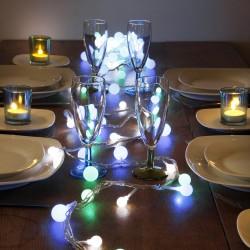 Guirlande 6 mètres 90 LEDs animés multicolores