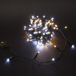 Guirlande DUOLIGHT 8 mètres 120 LEDs chaud/froid