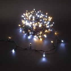Guirlande DUOLIGHT 20 mètres 250 LEDs chaud/froid