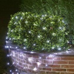 Filet lumineux  2x2 mètres 144 LEDs blanc froid