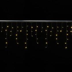 Cascade 2x0,6 mètres 72 LEDs animés blanc chaud