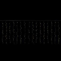 Cascade 1,5x1,7 mètres 176 LEDs animés blanc chaud