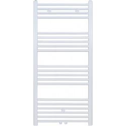 Radiateur sèche-serviette H120x40cm blanc