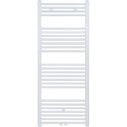Radiateur sèche-serviette H140x40cm blanc
