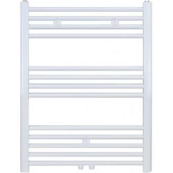 Radiateur sèche-serviette H80x50cm blanc