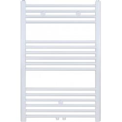 Radiateur sèche-serviette H100x50cm blanc