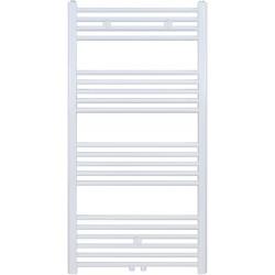 Radiateur sèche-serviette H120x50cm blanc