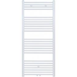 Radiateur sèche-serviette H140x50cm blanc