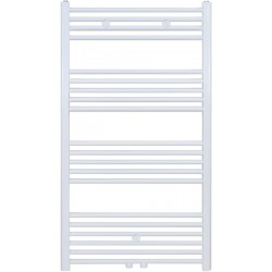 Radiateur sèche-serviette H120x60cm blanc