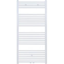 Radiateur sèche-serviette H140x60cm blanc