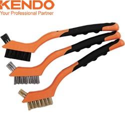 Set 3 mini-brosses KENDO 175mm