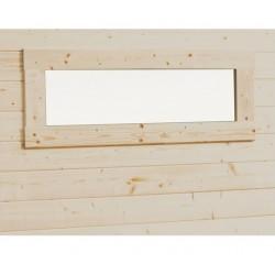 Fenêtre horizontale fixe imprégnée