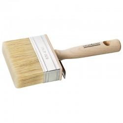 Brosse carre avec manche en bois 3 x 10 cm