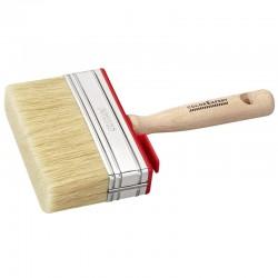 Brosse carre avec manche en bois 3 x 12 cm