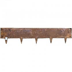 Bordure en acier Corten 24cm