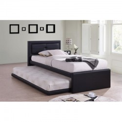 Lit simple avec lit gigogne