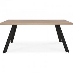 Table à diner bois/metal