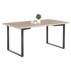 Table à diner pieds carrés
