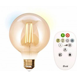 Ampoule GLOBE G95 LED Vintage iDual