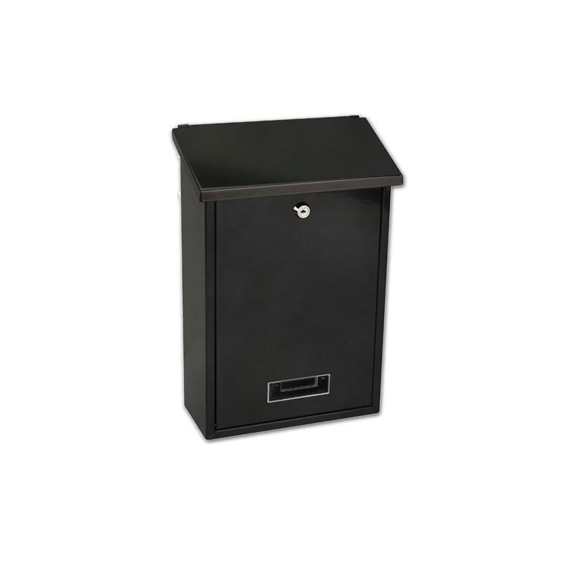 bo te aux lettres dublin noire. Black Bedroom Furniture Sets. Home Design Ideas